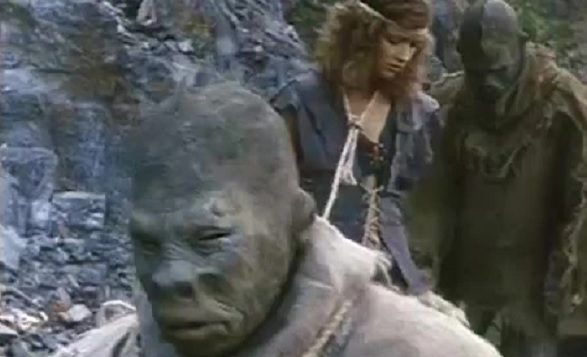 A Nymphoid Barbarian in Dinosaur Hell(1990)